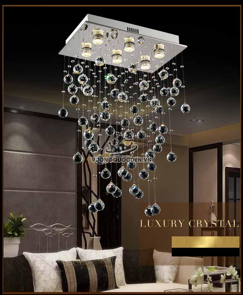 Các loại đèn thả trần trang trí mới lạ, độc đáo nhất 2018