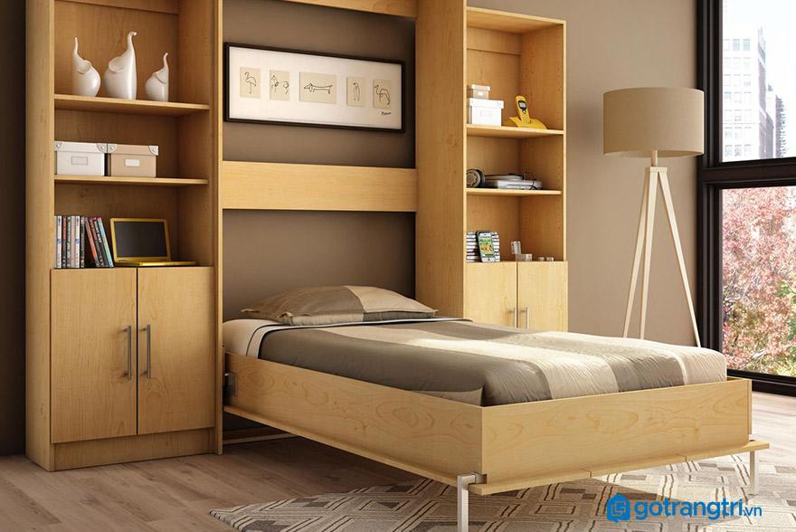 Mẫu giường ngủ cho phòng hẹp nên mua