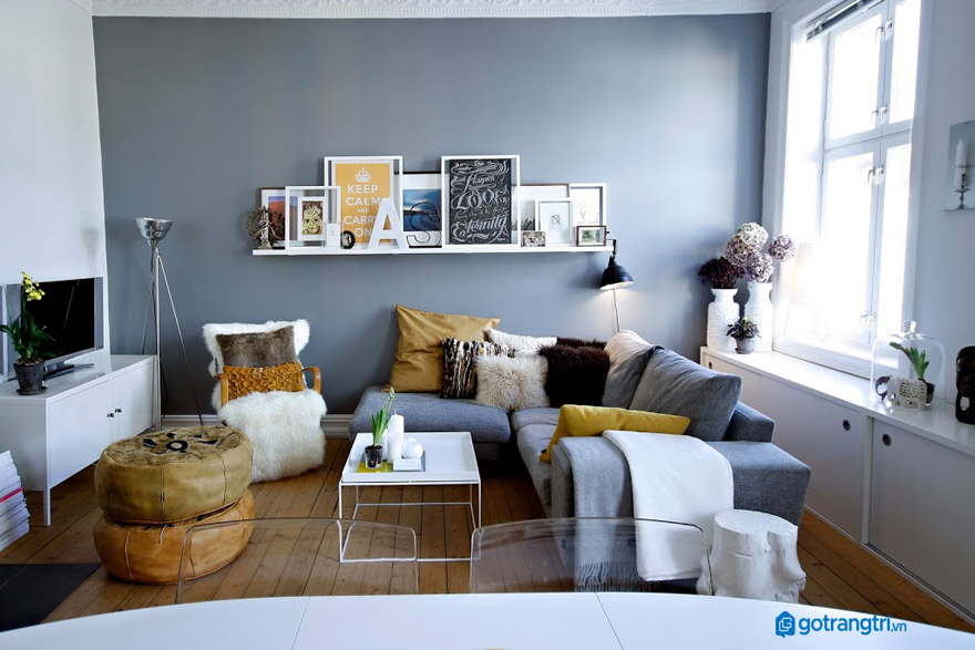 Các bước đặt ghế sofa trong phòng khách