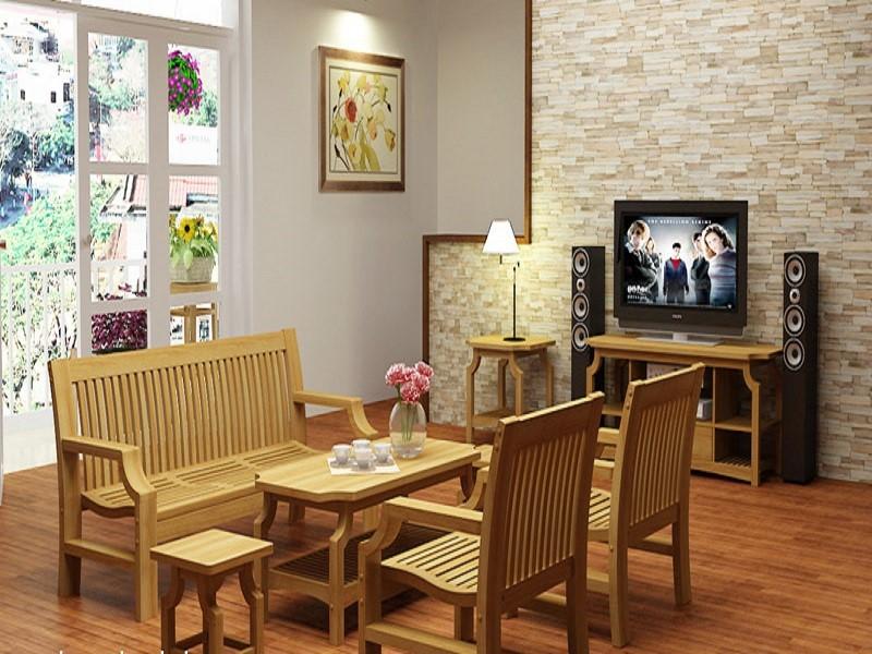 Tình hình tiêu thụ bàn ghế gỗ phòng khách tại Hải Phòng