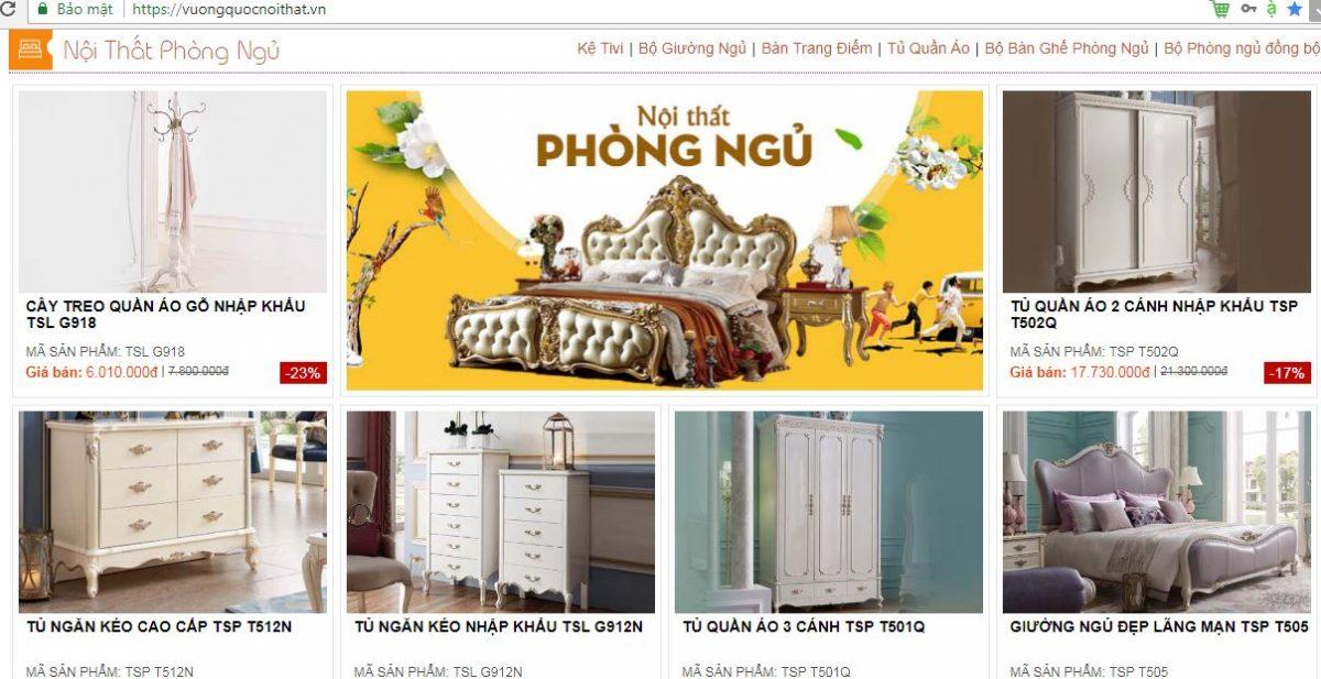 Showroom bán bàn trang điểm cổ điển cao cấp uy tín nhất Hà Nội