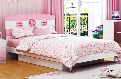 Tránh các vị trí đặt giường có bề mặt ẩm thấp