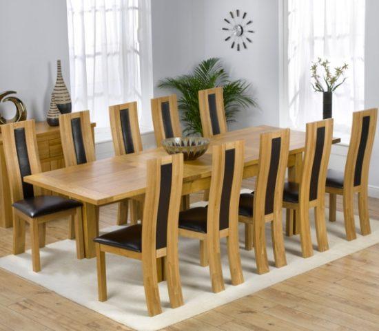 Tham khảo các mẫu bàn ăn đẹp 10 ghế siêu hot