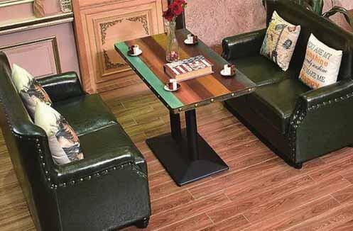 Bàn ghế café giá từ 10 -15 triệu đồng