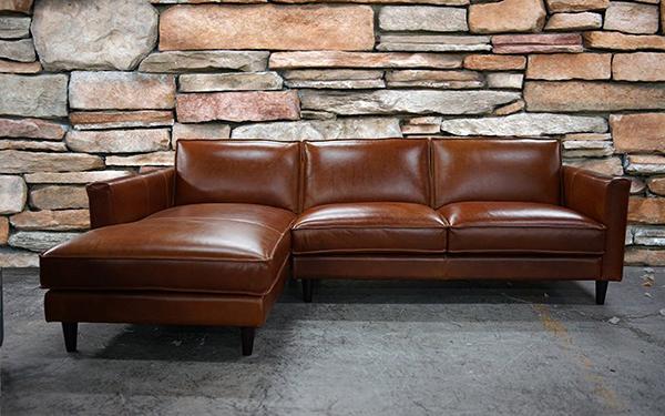 Mẫu sofa da bò nhập khẩu Ý