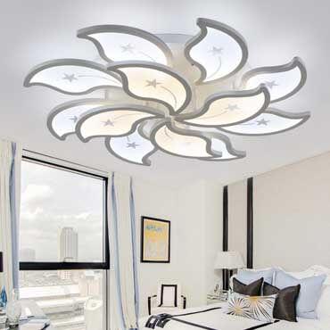 Đèn mâm ốp trần phòng ngủ