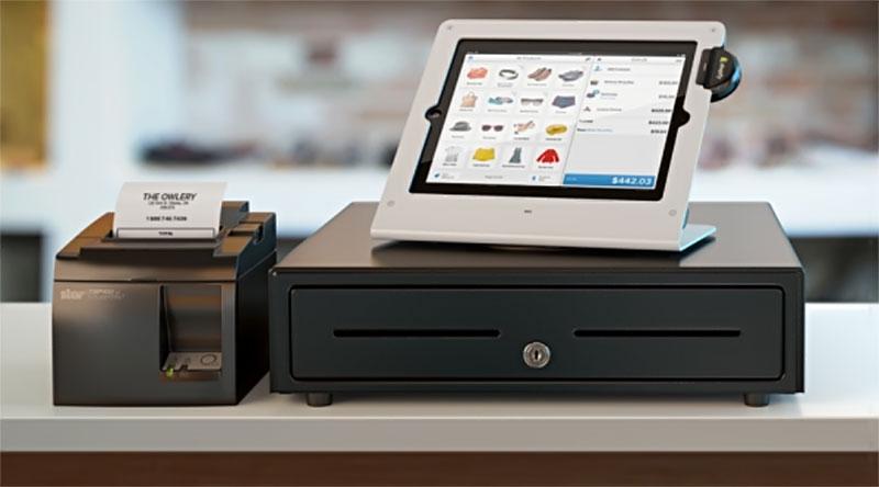 Hệ thống phần mềm, ngăn kéo thu ngân và máy in bill