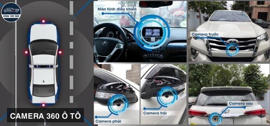 camera ô tô 360 hà nội